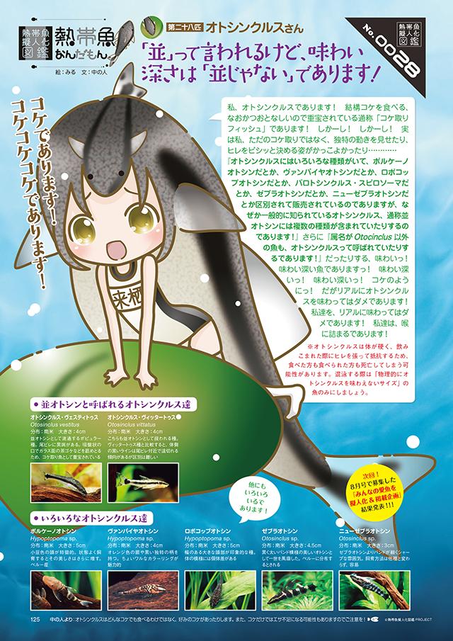 熱帯魚擬人化