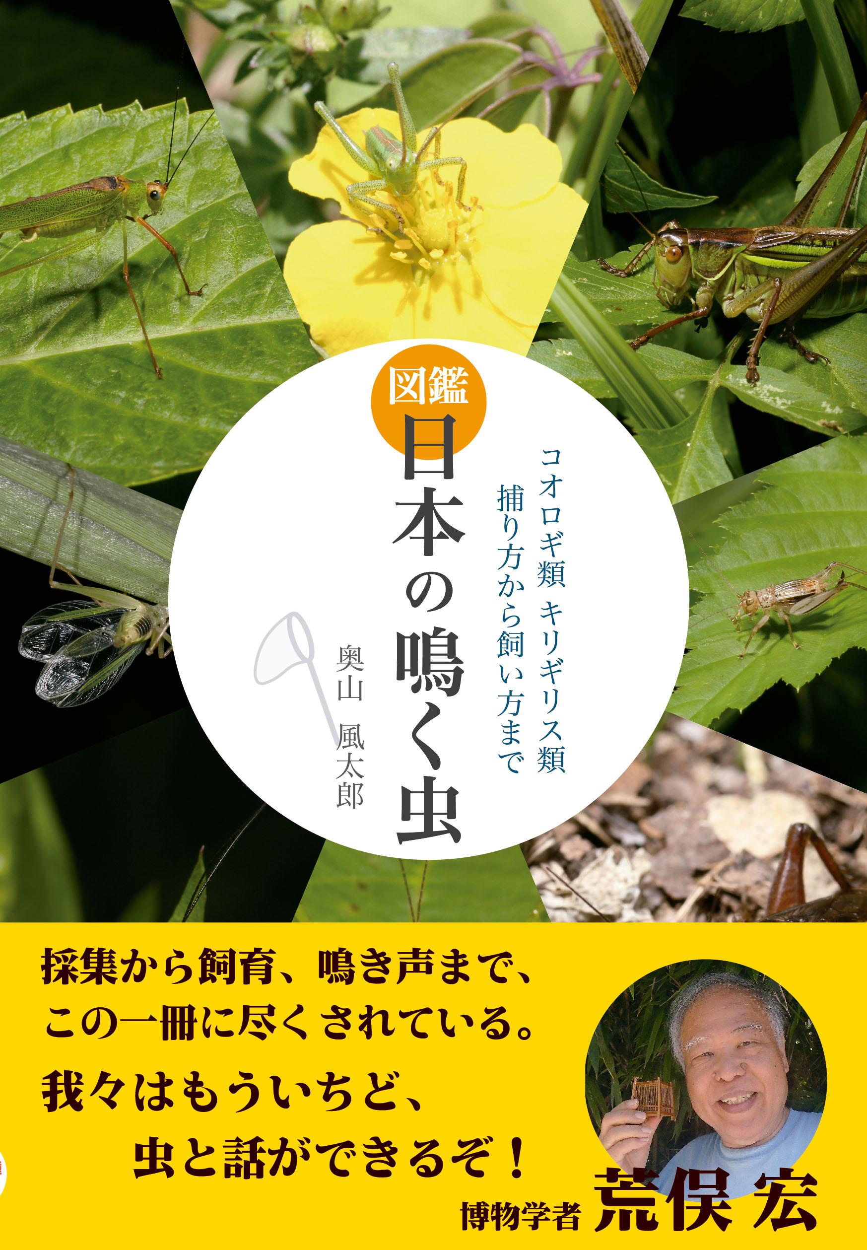 図鑑 日本の鳴く虫