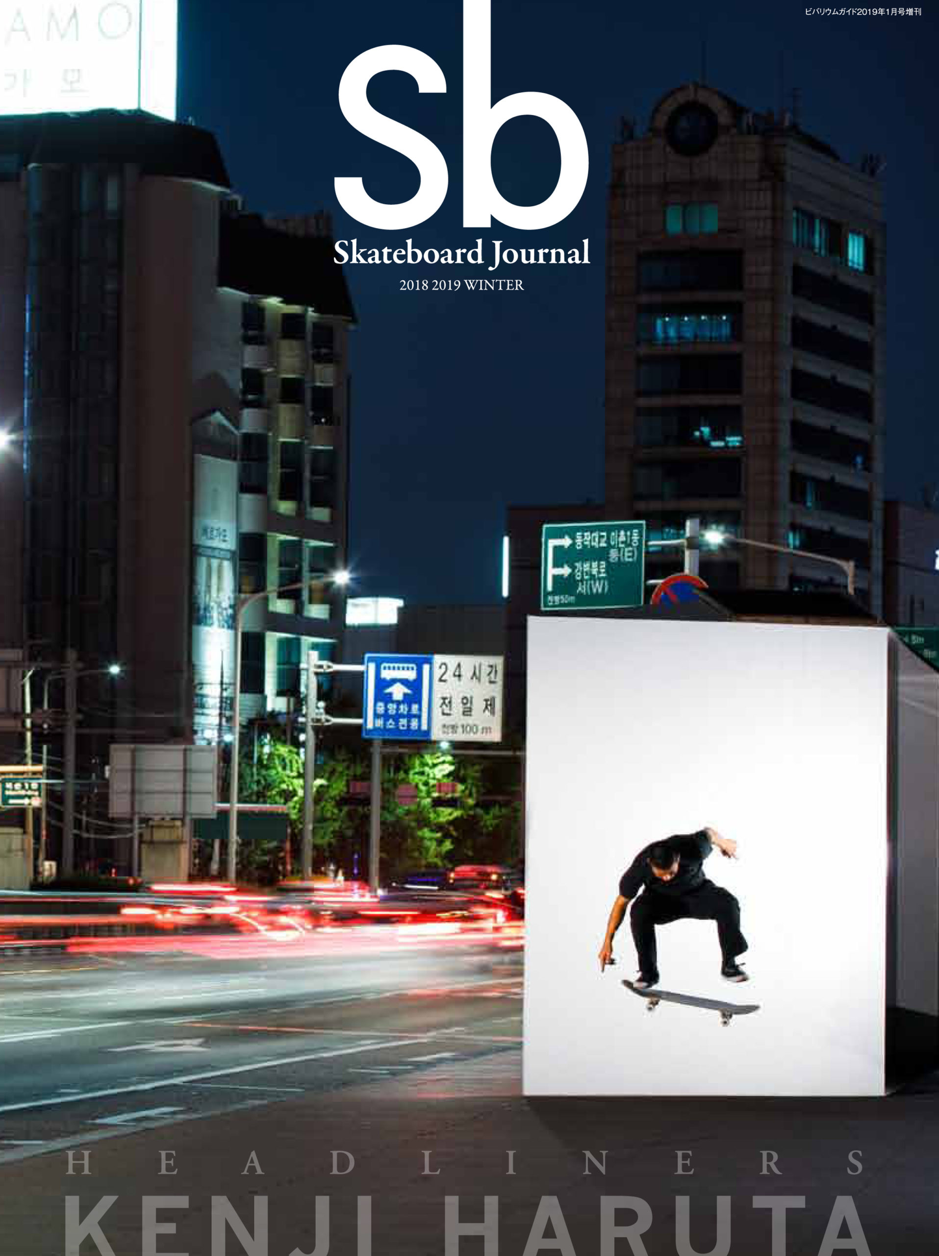 sb Skateboard Journal 2018-19 WINTER #32